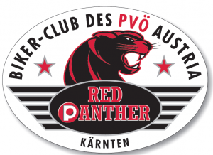 Logo Red Phanters Biker-Club des PVÖ